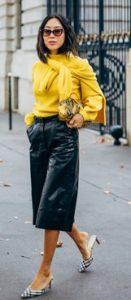 μαυρο με κιτρινο σε ρουχα