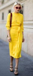 κίτρινο outfit