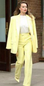 κίτρινο παστέλ outfit