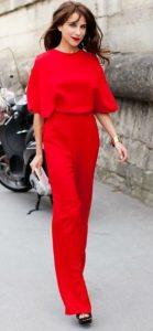 κόκκινο outfit