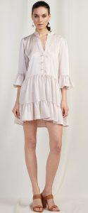 λευκό ανοιξιάτικο φόρεμα bsb 2020