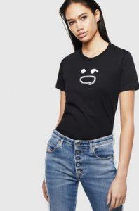 μαυρη μπλουζα με ματακια ντιζελ 2020