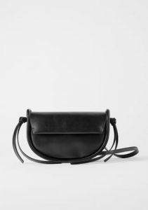 μαύρη τσάντα μινιμαλ γυναικεία
