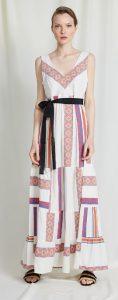 μάξι έθνικ φόρεμα με κεντήματα