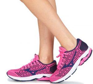 Ροζ γυναικεία παπούτσια γαι τρέξιμο Mizuno Wavekit R2