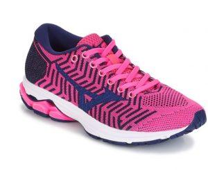 Ροζ γυναικεία παπούτσια Mizuno Wavekit R2