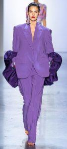 μοβ γυναικείο κουστούμι