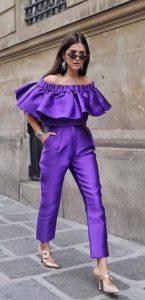 μοβ ρούχα