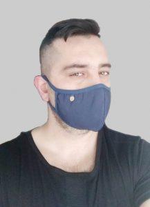 μπλε μάσκα προσώπου κορονοϊό ediva.gr