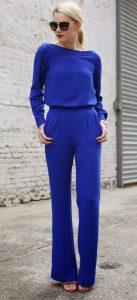 μπλε outfit