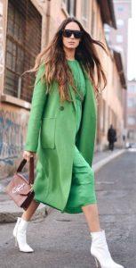 ντύσιμο σε αποχρώσεις του πράσινου