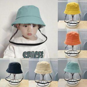 παιδικό καπέλο προστατευτικό προσώπου