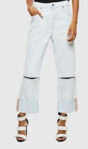 ασπρη παντελονα ντιζελ