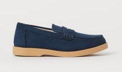 μπλε παπουτσια επισημα αγορι h&m 2020