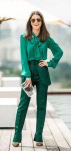 πράσινο ανοιξιάτικο ντύσιμο
