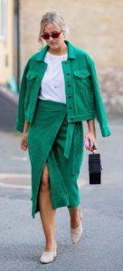 πράσινο ντύσιμο