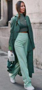 πράσινο outfit