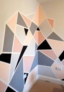 πρωτότυπο βάψιμο τοίχου