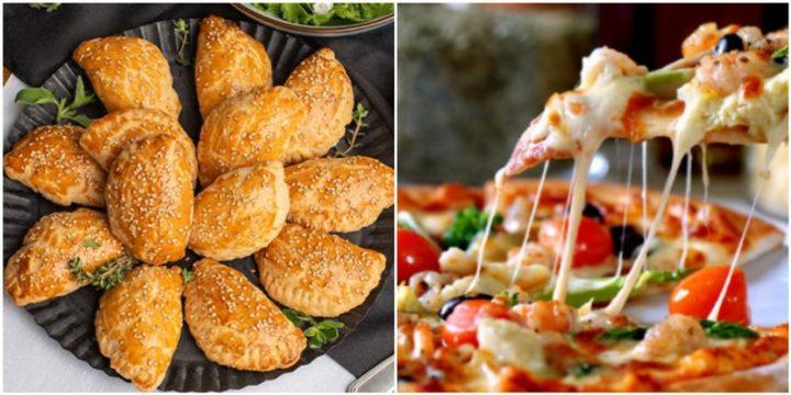 4 Εύκολες συνταγές για τυροπιτάκια και πίτσα χωρίς μαγιά!