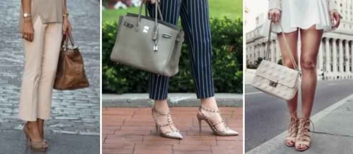 Πως να συνδυάσεις σωστά τσάντα-παπούτσι!