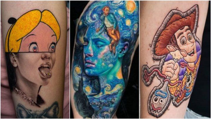 6 Στυλ για μοντέρνα τατουάζ το 2020