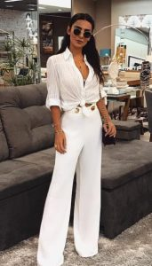 total άσπρο ντύσιμο