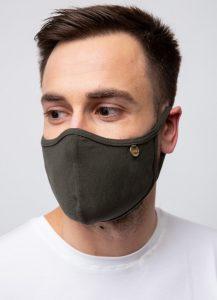 υφασμάτινη μάσκα προστασίας προσώπου