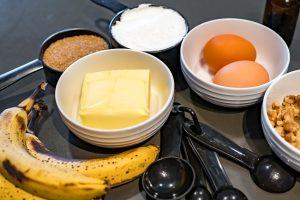 υλικά για banana bread