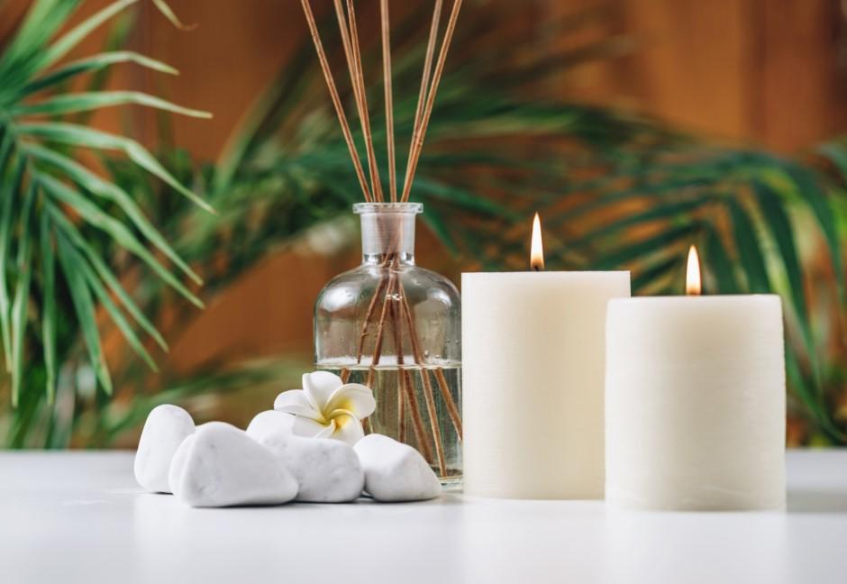 Αρωαμτικά κεριά για καλοκαιρινές μυρωδιές στο σπίτι