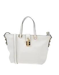 άσπρη γυναικεία τσάντα