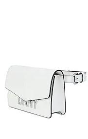 άσπρη τσάντα μέσης