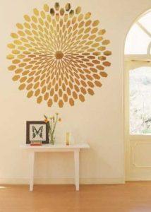χρυσο αυτοκολλητου τοιχου