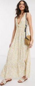 boho καλοκαιρινό φόρεμα