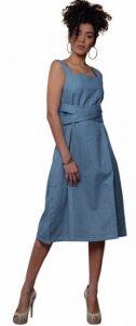 denim τιραντέ φόρεμα parizianista 2020