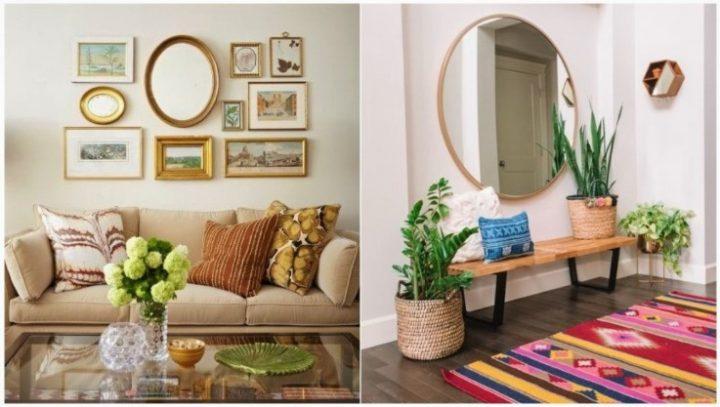 5 Όμορφοι τρόποι να διακοσμήσεις το σπίτι με καθρέπτες!