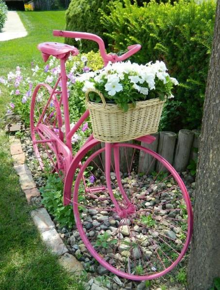 διακοσμητικό ποδήλατο κήπου