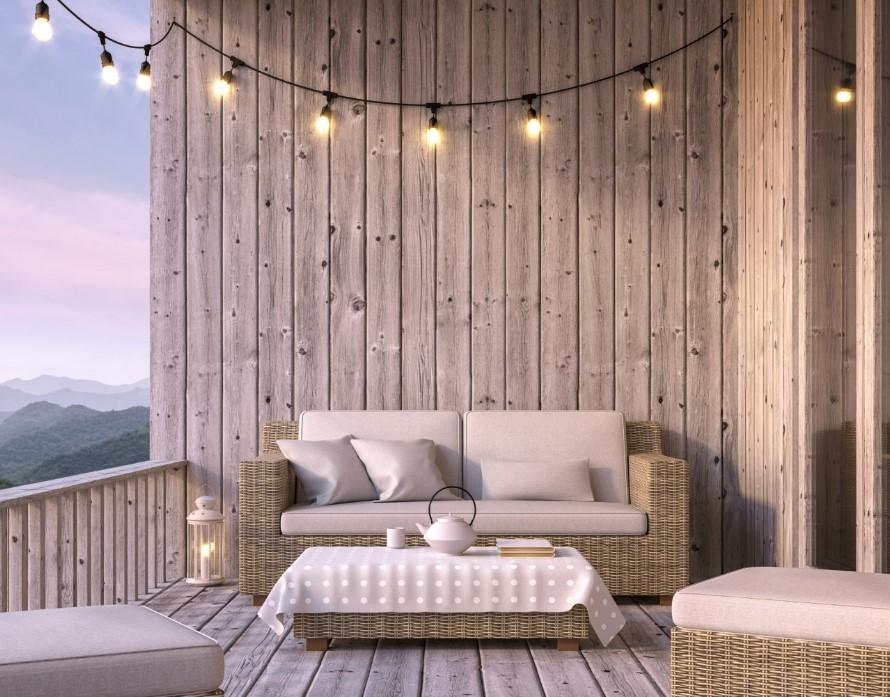 Φωτισμός στο μπαλκόνι