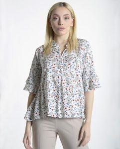 εμπριμέ πουκάμισο βολάν ρούχα paranoia καλοκαίρι