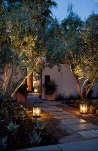 φωτισμος κηπου με φαναρακια