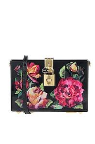floral επώνυμη τσάντα