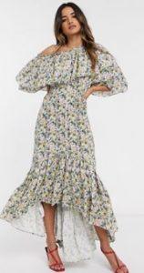floral maxi φόρεμα για το καλοκαίρι