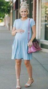 φορεμα κοντο για εγκυο