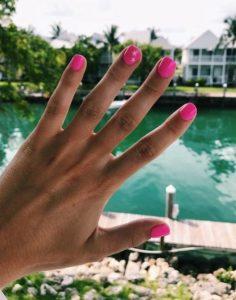 φουξ νύχια αστεράκια χρώματα νυχιών καλοκαίρι