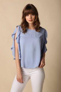 γαλάζιο γυναικείο μπλουζάκι