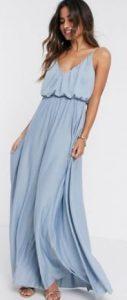 γαλάζιο μαξι φόρεμα