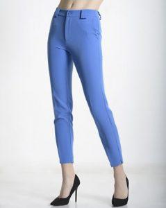 γαλάζιο παντελόνι ίσια γραμμή