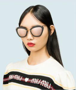 γυναικεία γυαλιά ηλίου καθρέφτης
