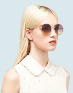 γυαλιά ηλίου για ξανθές γυναίκες