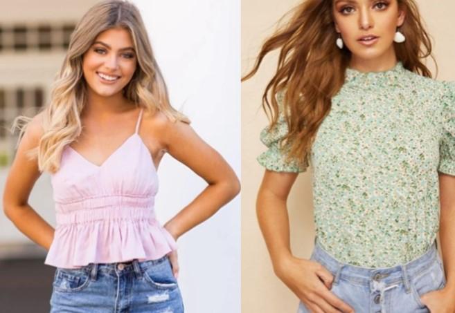 γυναικείες καλοκαιρινές μπλούζες