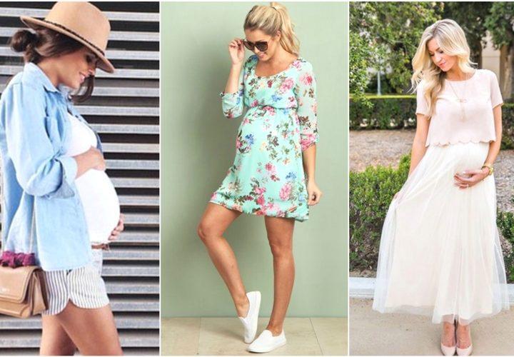 10 Υπέροχες ιδέες σε καλοκαιρινό ντύσιμο για εγκύους!